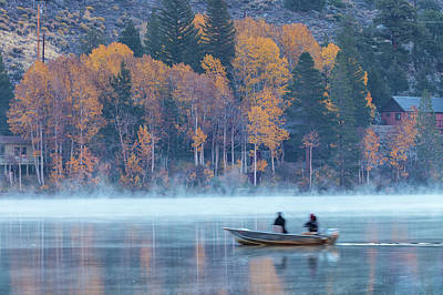 Photograph - Fishing At Dawn. by Jonathan Nguyen