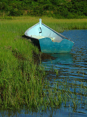 Photograph - Fisherman Boat by Juergen Roth