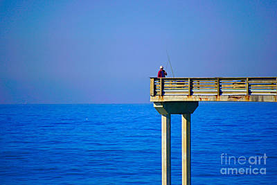 Photograph - Fisherman by Bob Brents