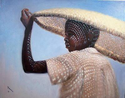 Fisherman  Art Print by Donelli  DiMaria