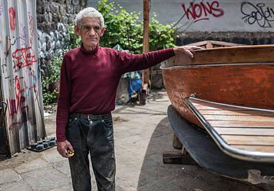 Photograph - Fisherman by Jocelyn Kahawai