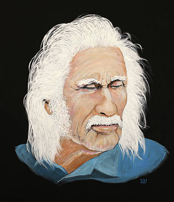 Painting - Fisherman by Marilyn Hilliard