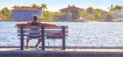 Photograph - Fisherman Pass A Grille Florida by Glenn Gemmell