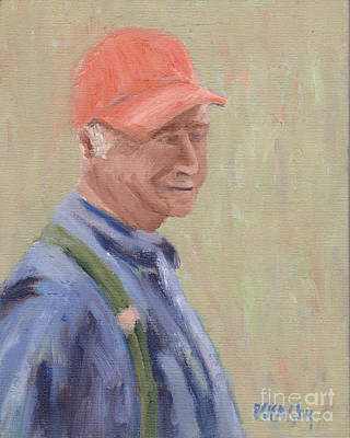 Painting - Fisherman by Patricia Cleasby