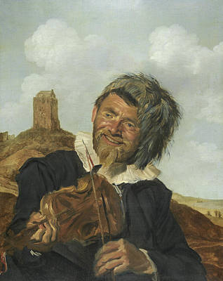 Painting - Fisherman Playing The Violin by Frans Hals