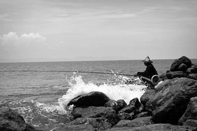 Photograph - Fisherman by Shawna Gibson