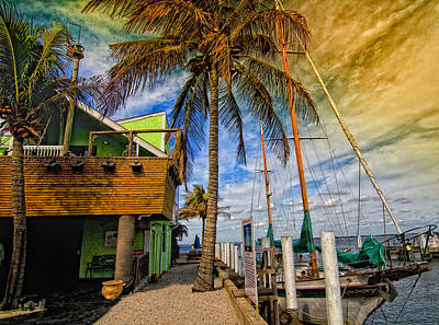 Photograph - Fisherman Village by Gina Cormier