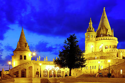 Photograph - Fisherman's Bastion by Fabrizio Troiani