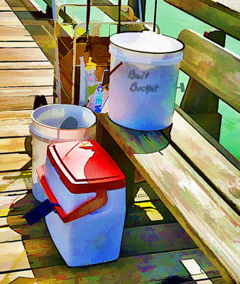 Fisherman's Buckets Art Print by Rena Trepanier