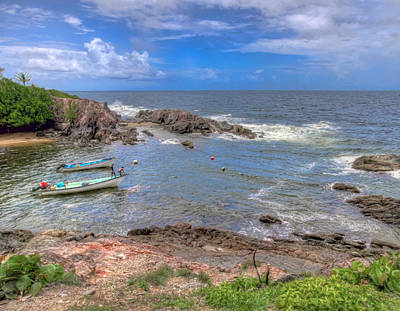 Photograph - Fisherman's Cove, Trinidad by Nadia Sanowar