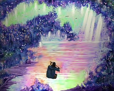 Digital Art - Fishermans Dream by Artful Oasis