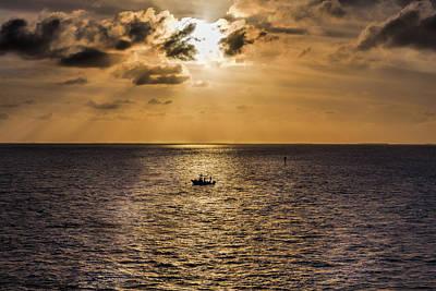 Photograph - Fisherman's Eve by John M Bailey