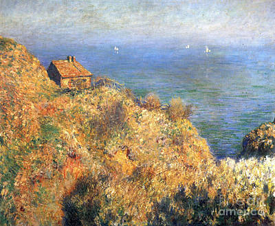 Monet Painting - Fisherman's House At Varengeville by Celestial Images
