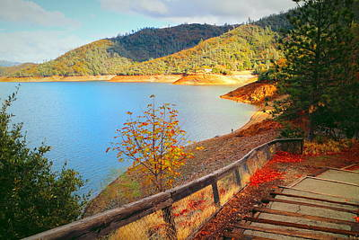 Photograph - Fishermans Point Shasta Lake by Joyce Dickens