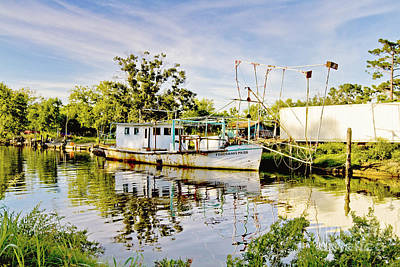 South Louisiana Photograph - Fisherman's Pride by Scott Pellegrin