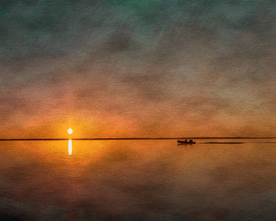 Photograph - Fisherman's Sunrise by Erwin Spinner