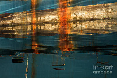 Photograph - Fisherman's Terminal Abstract 19 by Sonya Lang
