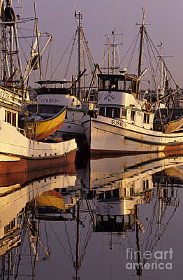 Photograph - Fisherman's Terminal Fishing Boats by Jim Corwin