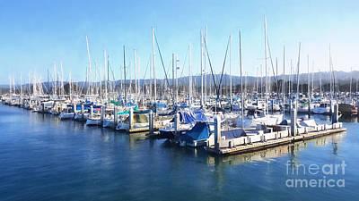 Photograph - Fisherman's Wharf Monterey by Gina Savage