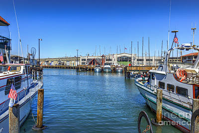 Photograph - Fishermans Wharf 2 by David Zanzinger