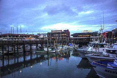 Photograph - Fisherman's Wharf by Alexis Lee Scott