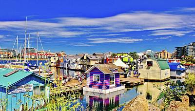 Photograph - Fishermans Wharf by Brian Sereda