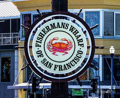 Photograph - Fishermans Wharf by Judy Wolinsky