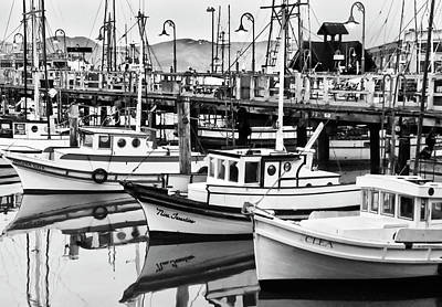 Photograph - Fishermans Wharf by Mick Burkey
