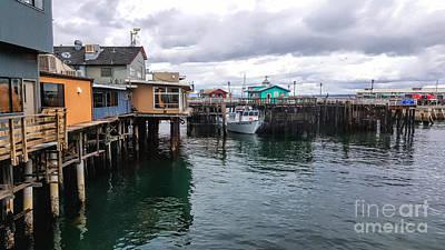 Photograph - Fisherman's Wharf Monterey II by Gina Savage