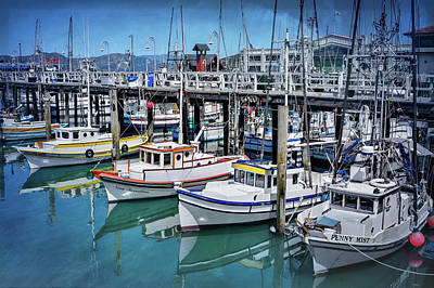 Photograph - Fishermans Wharf San Francisco  by Carol Japp