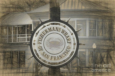 Photograph - Fisherman's Wharf San Francisco by Scott Cameron