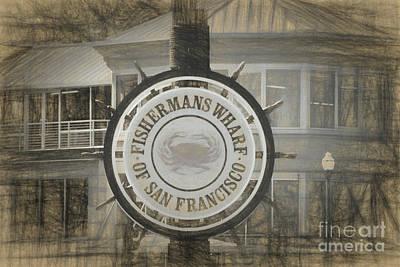 Photograph - Fisherman's Wharf San Francisco by Scott Cameron