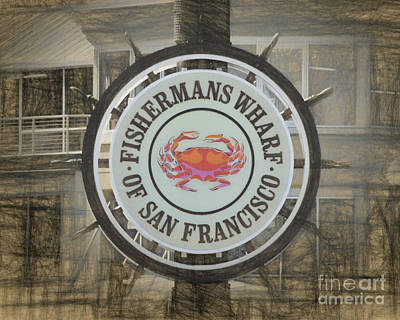 Photograph - Fishermans Wharf by Scott Cameron