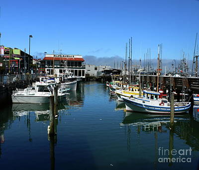 Photograph - Fishermans Wharf Serenity by Christiane Schulze Art And Photography