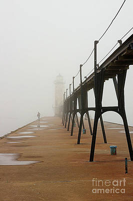 Photograph - Fishermen And Fog by Randy Pollard