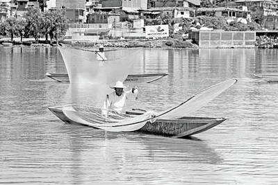 Photograph - Fishermen Of Old by Tina Ernspiker