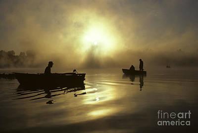 Photograph - Fishermen Sunrise by Jim Corwin