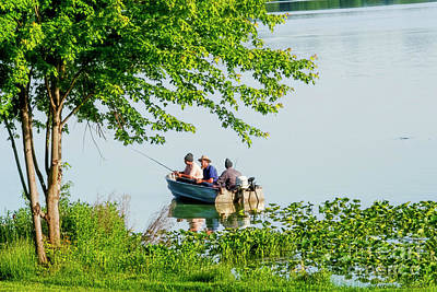 Photograph - Fishermen Three by David Arment