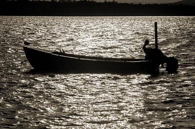 Photograph - Fishermen Two by Nicholas Blackwell