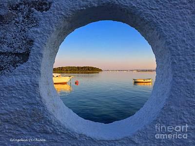 Photograph - Fishermen Village- Italy by Italian Art