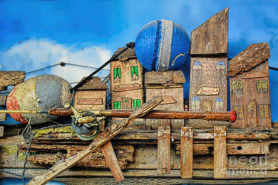 Photograph - Fishermen Village by Olga Hamilton
