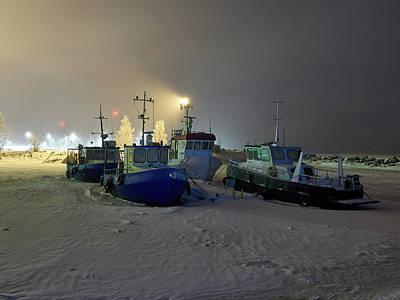 Photograph - Fishermens Boats by Jouko Lehto