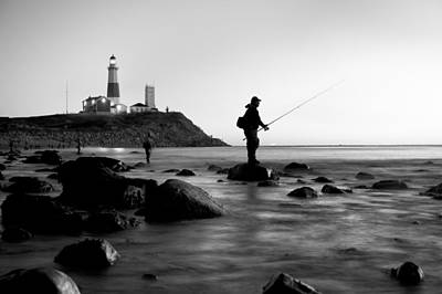 Hamptons Photograph - Fishermen's Heart by Bernard Chen