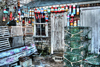 Photograph - Fishermen's Shack by LaRoque Photography
