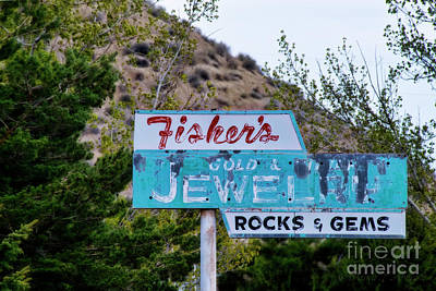 Photograph - Fisher's Jewelry by David Arment