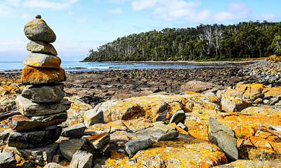 Photograph - Fishers Point - Tasmania by Lexa Harpell