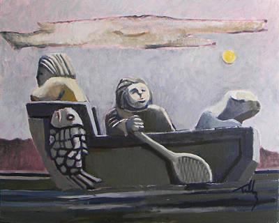 Fishers Art Print