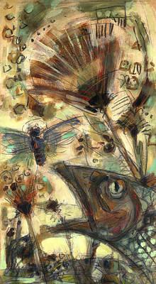 Fishflying_2 Art Print by Nato  Gomes
