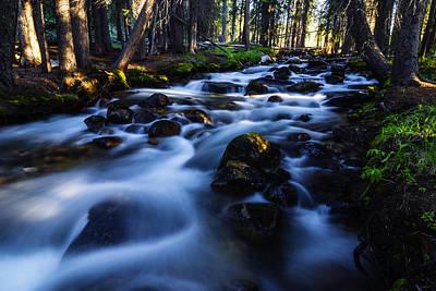 Photograph - Fishhook Creek In Stanley Idaho Usa by Vishwanath Bhat