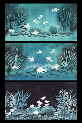 Polaroid Camera - Fishies Got The Blues II by Conni Schaftenaar